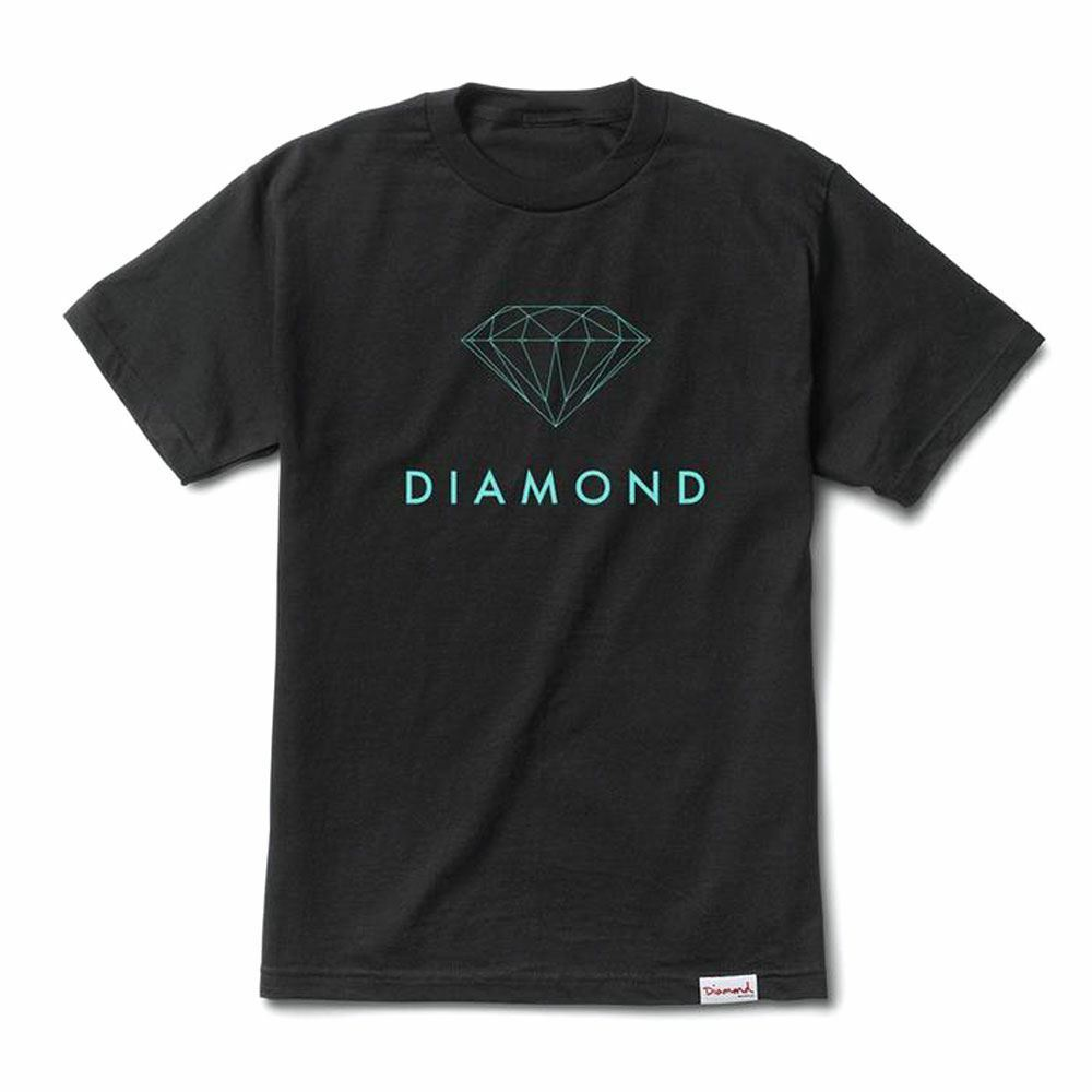 Diamond Supply Co Futura Sign T-shirt black