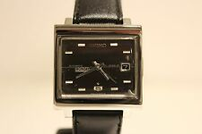 """VINTAGE MEN'S STAINLESS STEEL AUTOMATIC TV MODEL WATCH""""SEIKO 5""""21 J./6119-5000"""