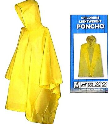 Waterproof Poncho Cape Hood,Disposable Reusable Raincoat,Festival Camping Event