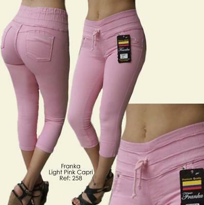 Original Levanta Cola Franka jeans push up 275 mustard high waist skinny jeans