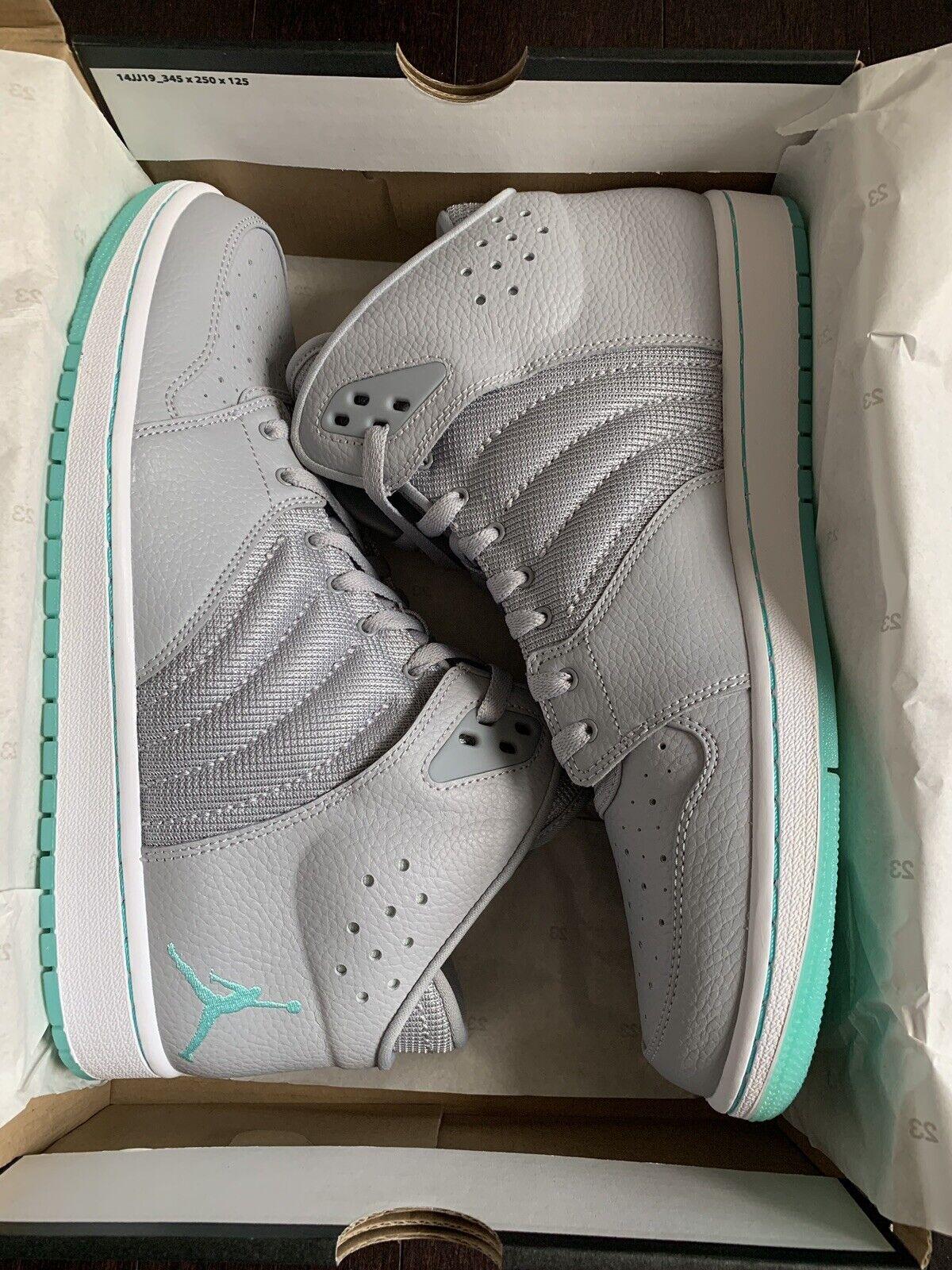 Nike Air Jordan 1 Flight 4 PREM Mens Hi Top Basketball Trainers Size 13