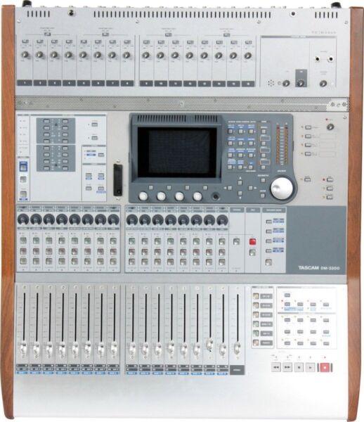 tascam dm 3200 dm3200 digital mixer recording console for sale online ebay. Black Bedroom Furniture Sets. Home Design Ideas