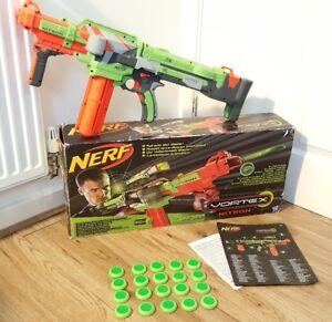 Image is loading Nerf-Gun-Vortex-Nitron-Blaster-Complete-with-Original-