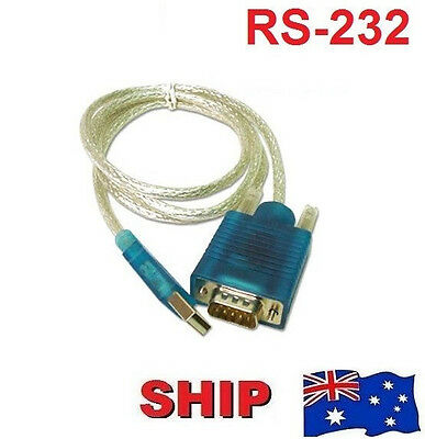 USB 2.0 TO SERIAL RS232 DB9 9 PIN ADAPTER CABLE PDA cord GPS CONVERTER RS-232