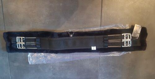 """Hooks Fleece Lined Girth Black 28/"""""""