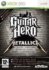 GUITAR HERO  METALLICA          -----   pour X-BOX 360