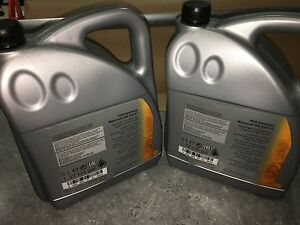 Genuine mercedes benz low ash engine oil fully for Mercedes benz synthetic oil