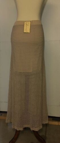 Vintage Havana Leah Crochet Maxi Skirt Size M BL4