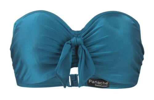 Panache Veronica Verkabelt Bandeau-Bikini Schwimmen Top Badeanzug Badebekleidung