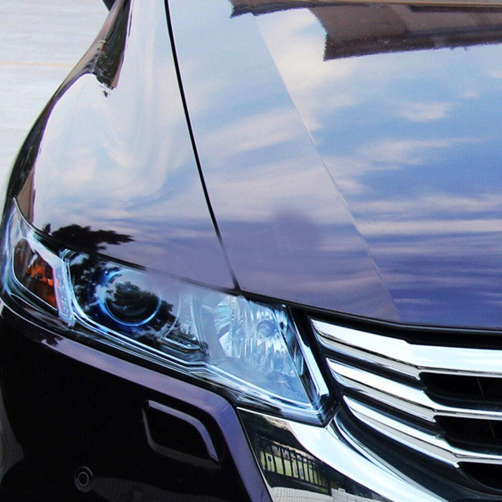 Car Headlight Taillight Fog Light Sticker Tint Protector Film Vinyl Wrap Decals 6