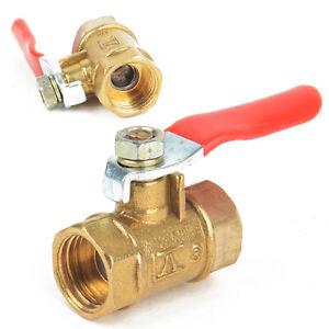 1-4-039-039-PT-Female-to-Female-Thread-Brass-Ball-Valve-Lever-Handle-Full-Port-Tool