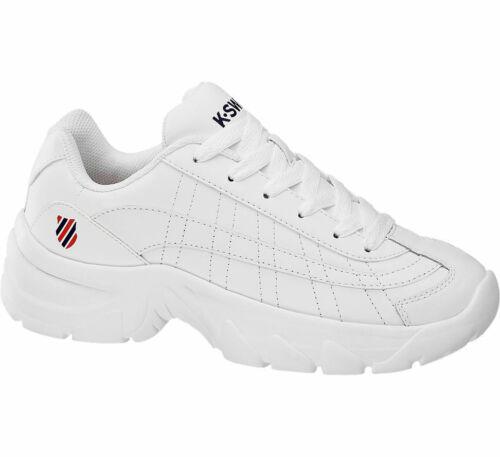 K-swiss Damen Chunky Sneaker weiß Neu