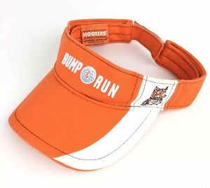 70a4046d88917 Hooters BUMP RUN Beach Golf Sun Visor Hat Cap Adj Adult Size Cotton ...