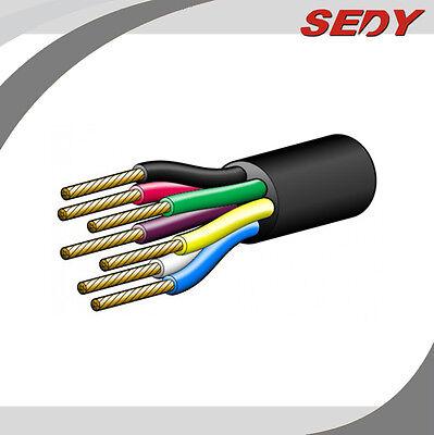 100M 7 Core Trailer Cable 2.5mm Train Wire Caravan Plug Socket Wiring NARVA 5872