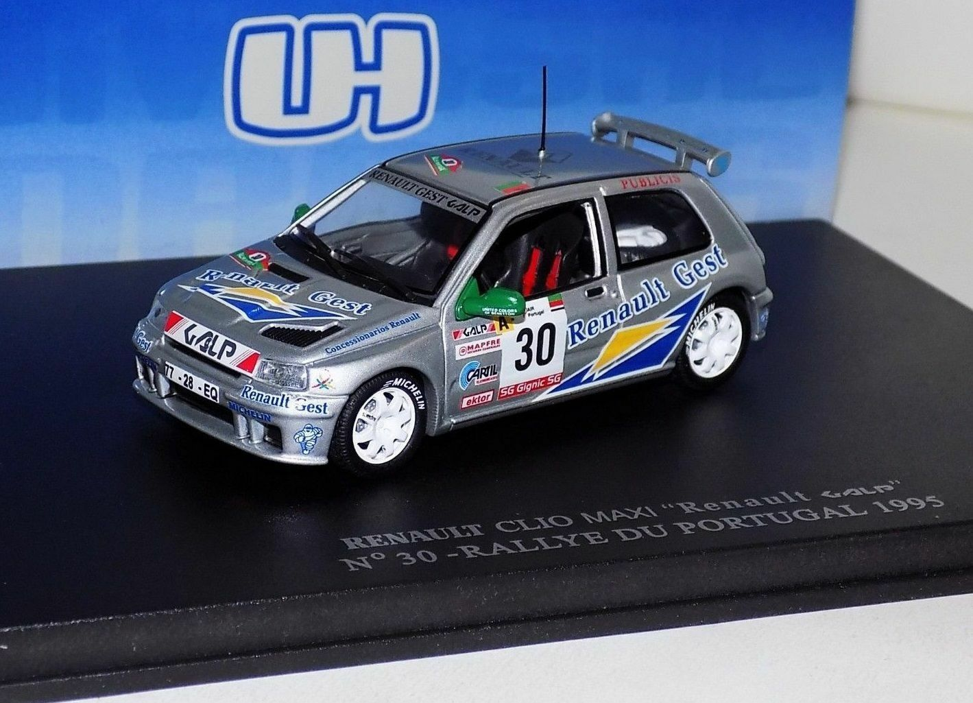 RENAULT CLIO MAXI GALP PORTUGAL 1993 UH 1783 1 43