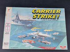 rare Carrier Strike board game #4713 Milton Bradley 1977 Navel Strategy 100% com