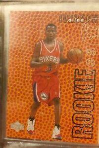 Allen Iverson R1 ROOKIE Exclusives 1997 UPPER DECK