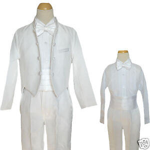 Infant Boy & Toddler Wedding Christening Formal Party Tuxedo M L XL 2T 3T 4T
