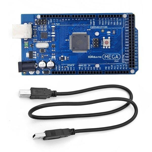 1 Funduino Mega 2560 ATmega2560-16AU Board (Arduino-compatible) + Free USB Cable