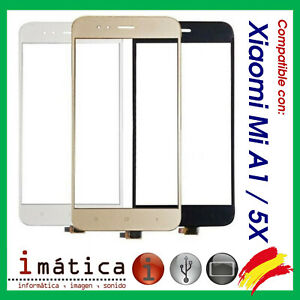 PANTALLA-TACTIL-PARA-XIAOMI-MI-A1-5X-DIGITALIZADOR-BLANCO-NEGRO-TOUCH-SCREEN