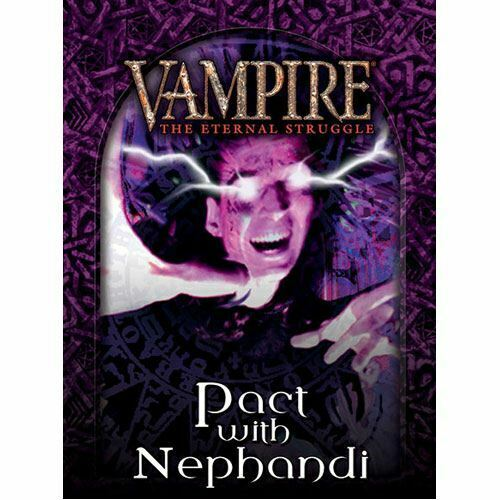 Tremere préconstruites deck vampire the eternal struggle Pacte avec nephandi