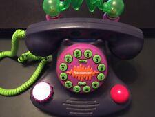 Vintage Collectible 1987 Nickelodeon Talk Blaster Telephone