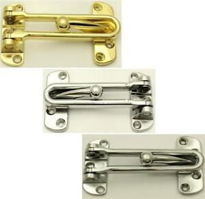 Security Door Guard Restrictor Security/Chain/Saftey/Guard/Lock ...