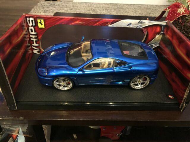 Hot Wheels Blue Ferrari 360 Modena Whips Metal Collection 1 18 Günstig Kaufen Ebay
