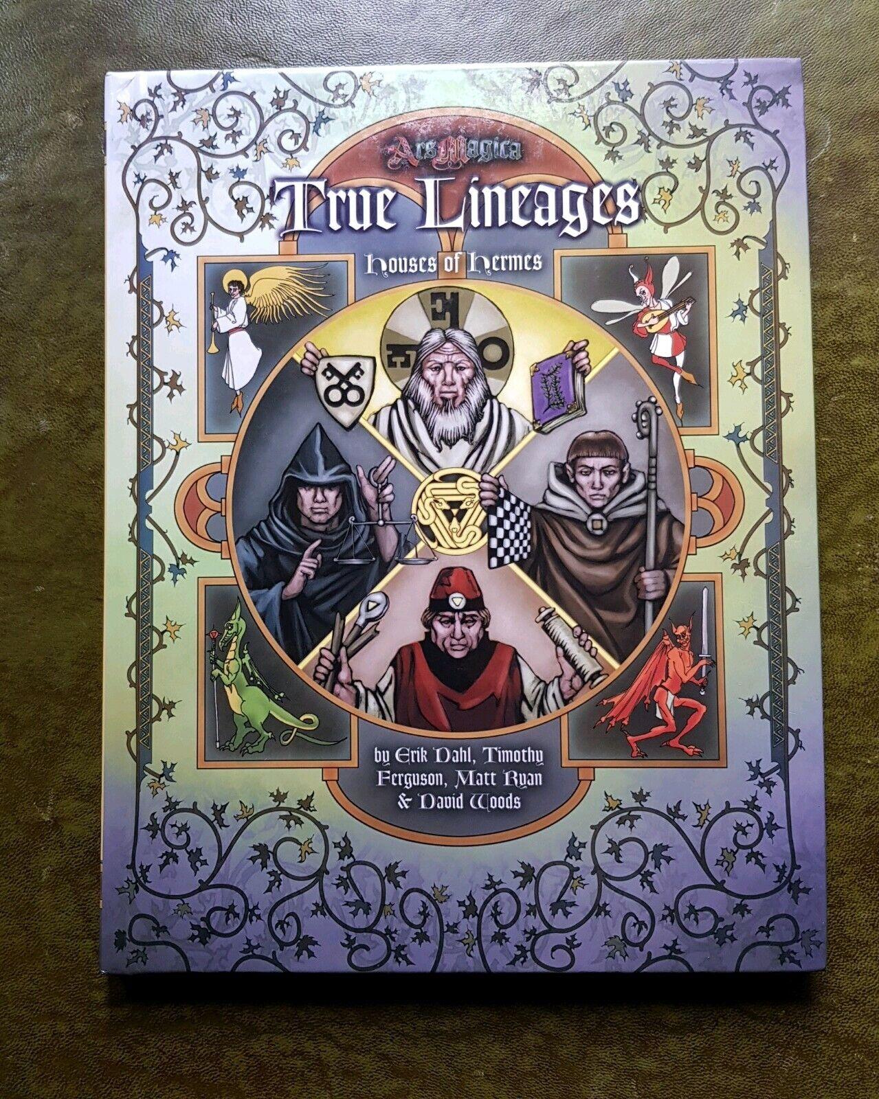 TRUE LINESER - ARS magiA 5th EDITION RPG ROLEspela ROLEspelaing ATLAS spelS