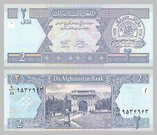 Afghanistan 2 Afghani 2002 p65a unc.