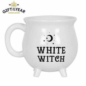 White-Witch-Cauldron-Mug-Pagan-Wicca-Spell-Witchcraft