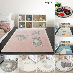 Details about Yellow Grey Kids Boy Girls Nursery Mats Cheap Playmats  Childrens Bedroom Rugs