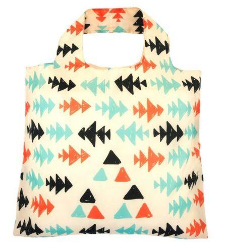 Envirosax Designer Reusable Foldaway Eco Shopping Bag Paleo Range Open Top