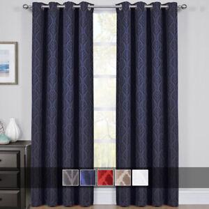 Blackout Grommet Top Curtain D
