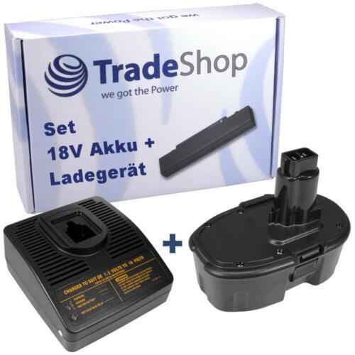 2in1 set Batterie 18v 3300mah Chargeur pour Dewalt de9098 dw9095 dw9096 dw9098