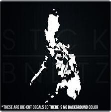 PHILIPPINES ISLANDS CUTE FUNNY CUTE DECAL STICKER MACBOOK CAR WINDOW MOTORCYCLE