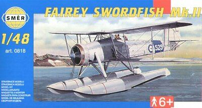 2019 Latest Design Smer 1/48 Fairey Swordfish Mk.ii # 0818 Choice Materials Models & Kits