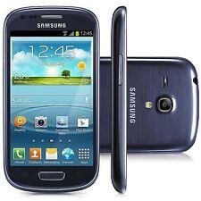 SAMSUNG Galaxy S III Mini gt-i8190 Pebble Blu (Sbloccato) Smartphone grado c