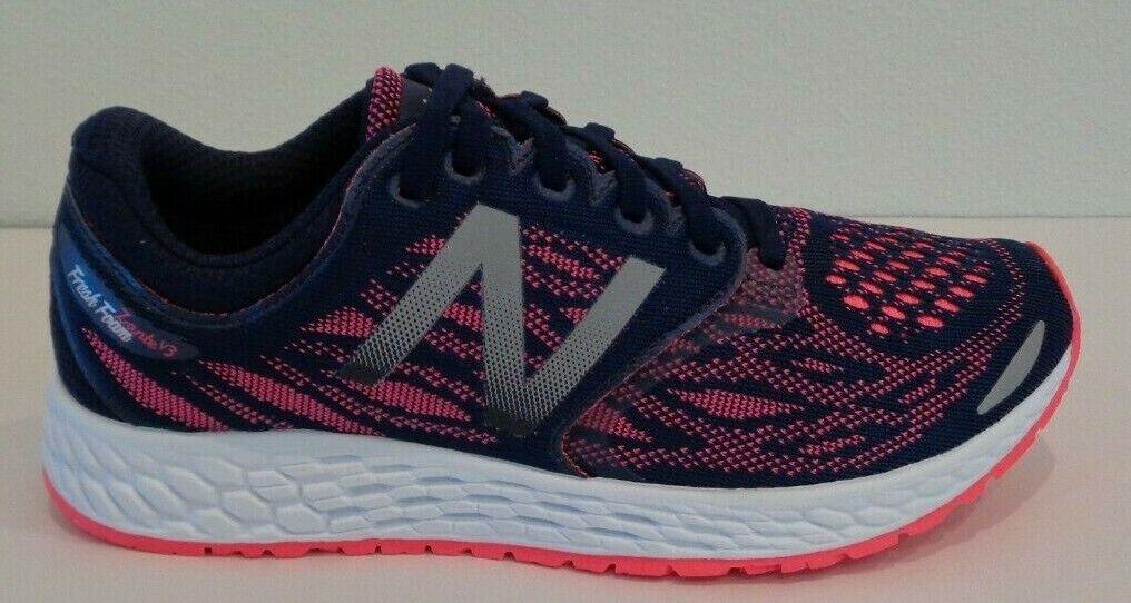 New Balance Balance Balance Size 6.5 ZANTE V3 Dark Denim Pink Running Sneakers New Womens shoes abdff3