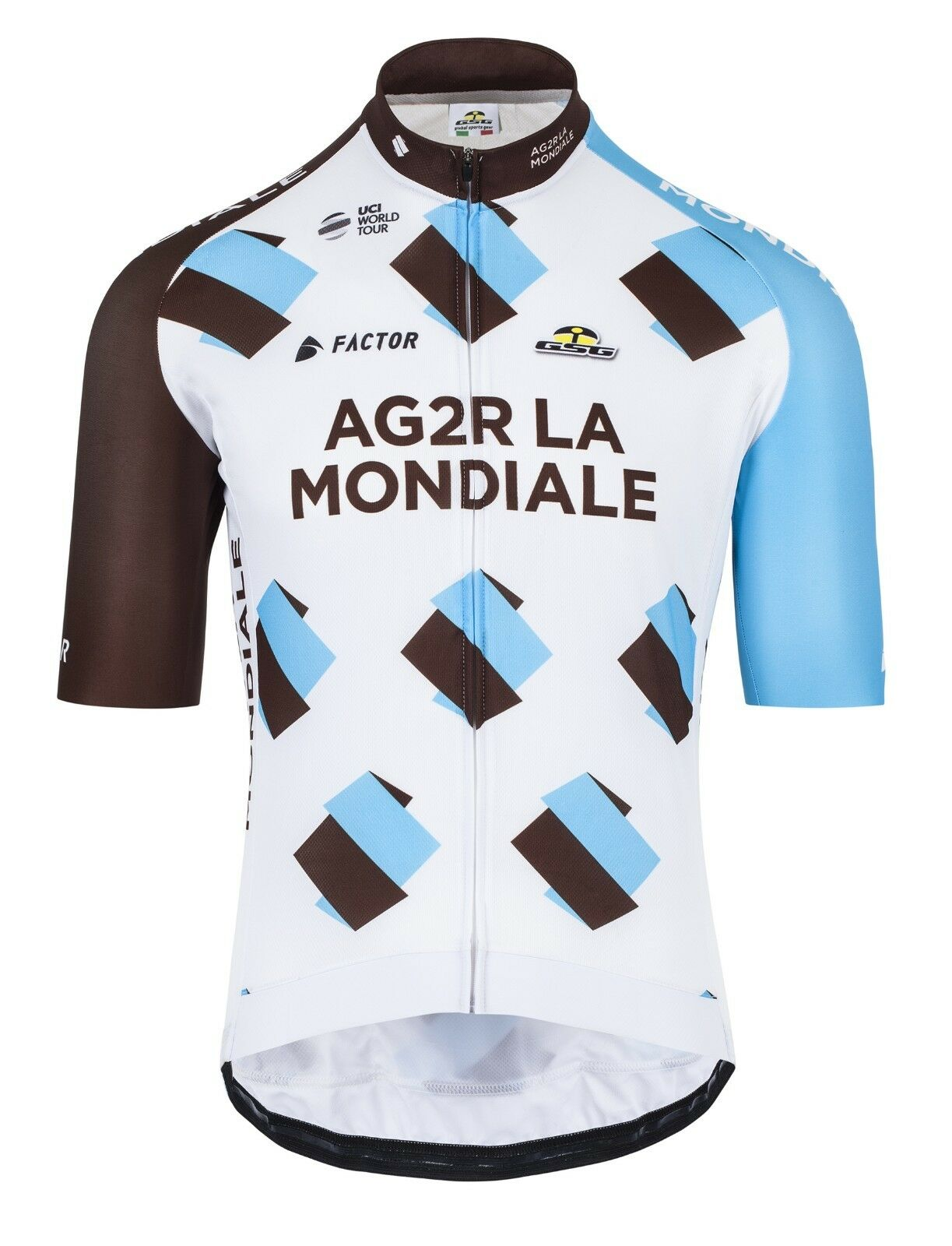 2017 AG2R CYCLING SHORT SLEEVE JERSEY - Made in  by GSG