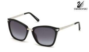 Nero Sunglasses Swarovski sfumato Grigio Sk152 01b q8tnd4t