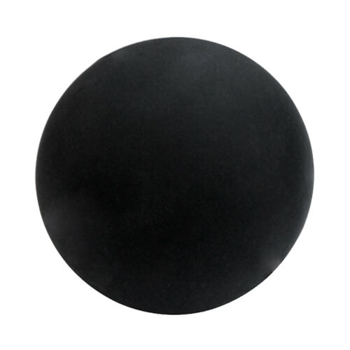 Trigger Point Lacrosse Massage Ball Gym Exercise Therapy Rubber Tool Black