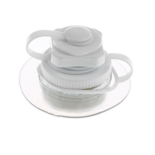 22mm Air Valve One-way Inflation Replacement for Canoe Boat Kayak Raft White