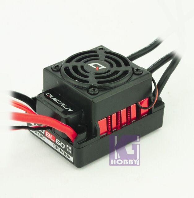1/10 RC Car Brushless Motor Controller 60a ESC QuicRun Hobbywing Car Water  Proof