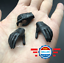 1//6 scale Female Black Gloved Hands for 12/'/' Female Body Doll Accessory