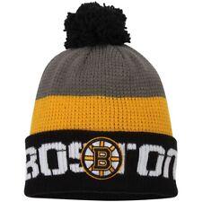 d29a994ca Era Boston Bruins Black/graphite Polar Prints 2 Cuffed Knit Hat With ...