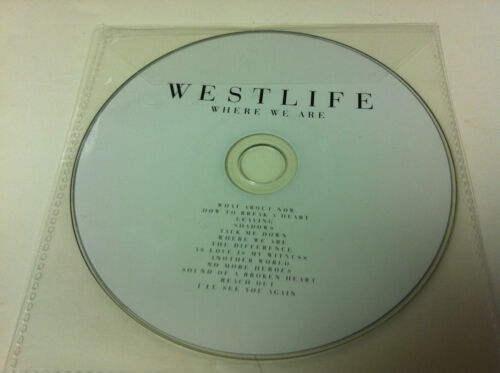 1 von 1 - westlife - Where We Are Musik CD Album 2009 - nur CD in Plastikhülle