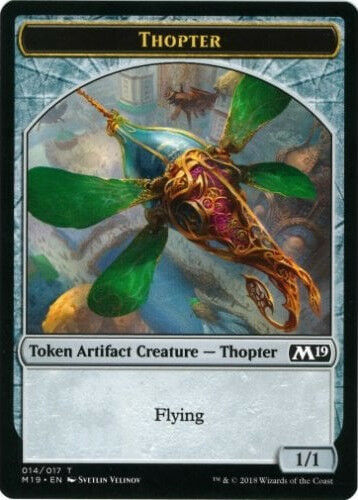 4x Thopter Token NEW MTG Core Set 2019