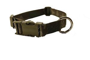 Onie Canine 'Onie' 25mm ITW Nexus Plastic Fastner Dog Collar - Police Security