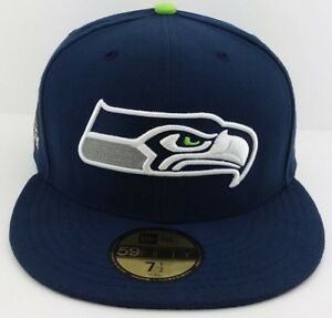 9790d358 Details about Seattle Seahawks New Era 59FIFTY fitted/hat/cap/Super Bowl  XLVII